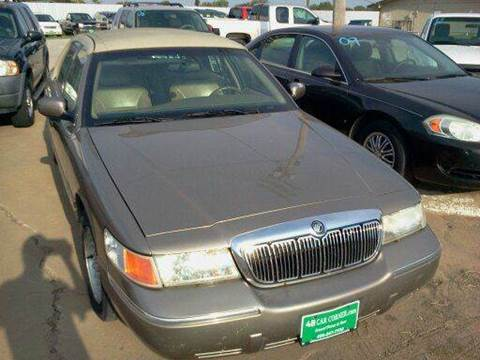 2002 Mercury Grand Marquis for sale at 4 B CAR CORNER in Anadarko OK