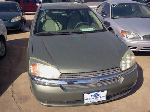 2005 Chevrolet Malibu for sale at 4 B CAR CORNER in Anadarko OK