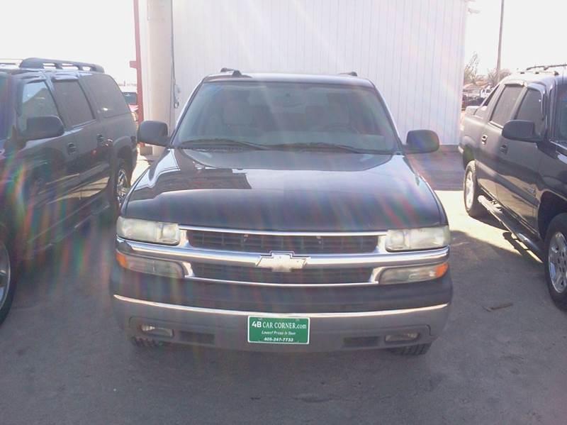 2004 Chevrolet Suburban for sale at 4 B CAR CORNER in Anadarko OK