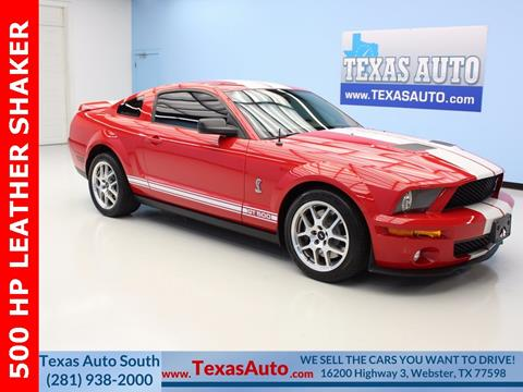 2008 Ford Shelby GT500 for sale in Houston, TX