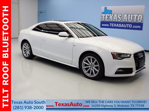 2016 Audi A5 for sale in Houston, TX