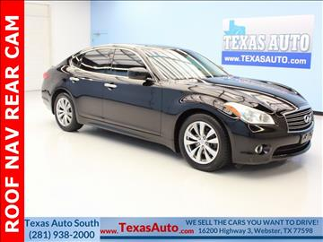 2012 Infiniti M37 for sale in Houston, TX