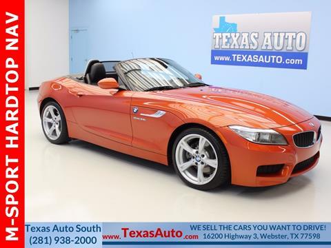 2015 BMW Z4 for sale in Houston, TX
