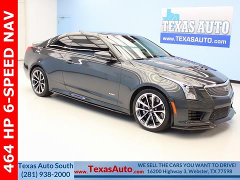 2016 Cadillac ATS-V for sale in Houston, TX