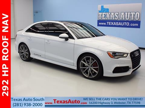 2016 Audi S3 for sale in Houston, TX