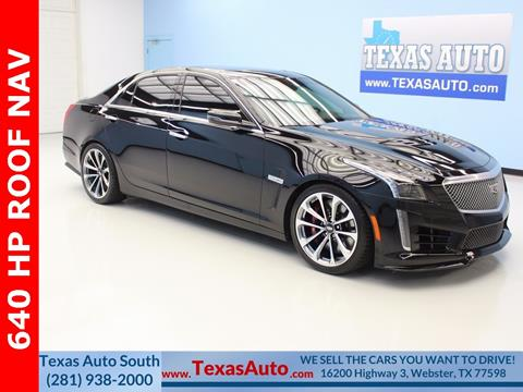 2016 Cadillac CTS-V for sale in Houston, TX