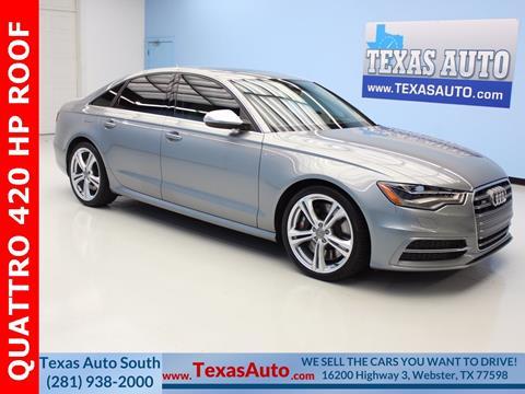 2015 Audi S6 for sale in Houston, TX