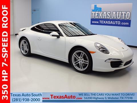 2013 Porsche 911 for sale in Houston, TX