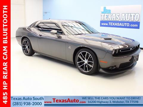 2016 Dodge Challenger for sale in Houston, TX