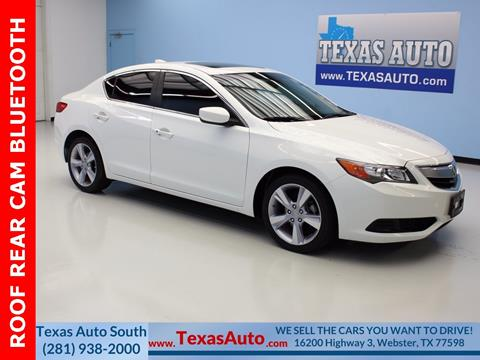 2014 Acura ILX for sale in Houston, TX