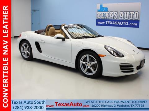 2013 Porsche Boxster for sale in Houston, TX