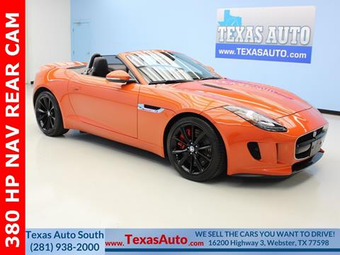 2014 Jaguar F-TYPE for sale in Houston, TX