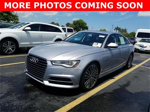 2016 Audi A6 for sale in Houston, TX