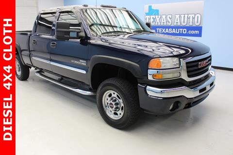 2006 GMC Sierra 2500HD for sale in Houston, TX