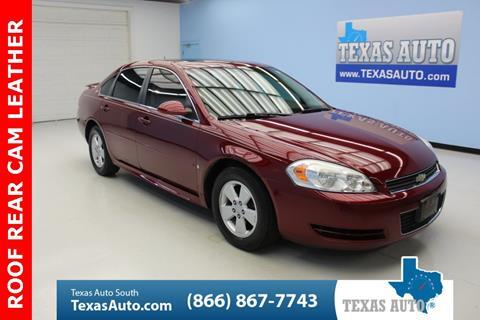 2009 Chevrolet Impala for sale in Houston, TX