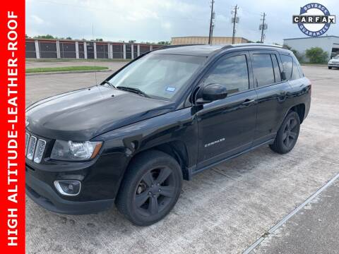 2015 Jeep Compass Latitude for sale at Texas Auto South in Houston TX