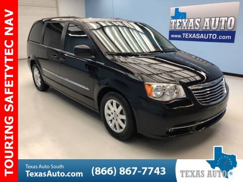 2013 Chrysler Town and Country Touring for sale at Texas Auto South in Houston TX