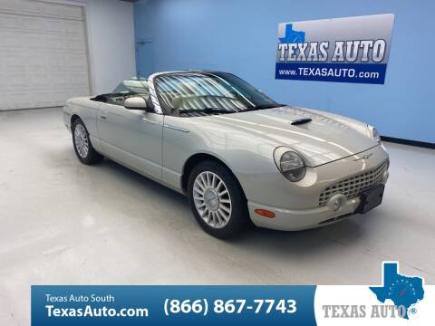 2005 Ford Thunderbird 50th Anniversary Limited Edition for sale at Texas Auto South in Houston TX