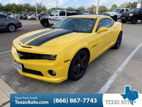 2013 Chevrolet Camaro SS for sale at Texas Auto South in Houston TX