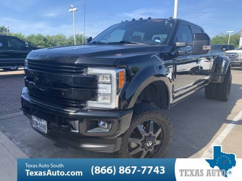 2017 Ford F-350 Super Duty Lariat for sale at Texas Auto South in Houston TX