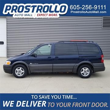 2003 Pontiac Montana for sale in Madison, SD