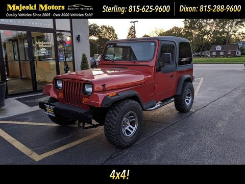 1995 Jeep Wrangler for sale in Sterling, IL