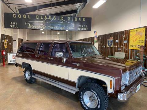 1978 Chevrolet Suburban for sale in Redmond, OR