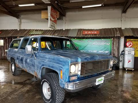 1974 Chevrolet Suburban for sale at Cool Classic Rides in Redmond OR