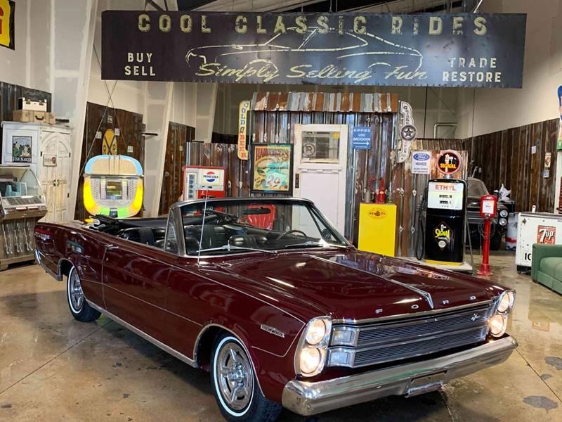 1966年 フォード ギャラクシー コンパーチブル