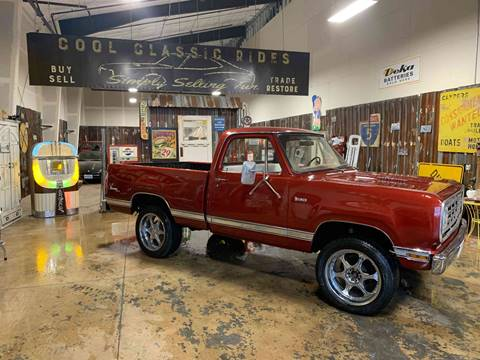 1976 Dodge W-100 Pickup 4x4 for sale at Cool Classic Rides in Redmond OR