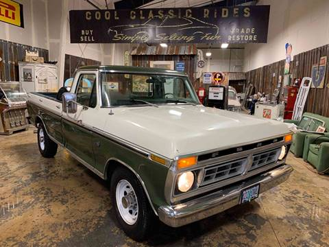 1976 Ford F-150 Ranger XLT for sale at Cool Classic Rides in Redmond OR