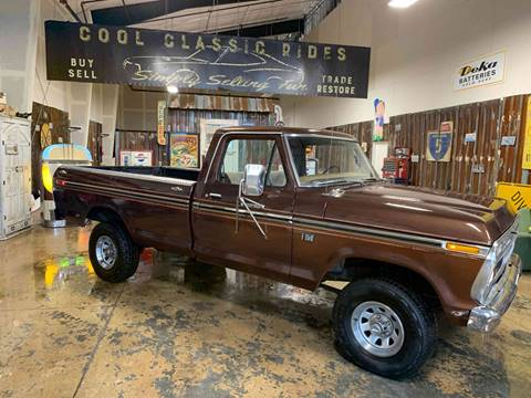 1976 Ford F-150  4x4 for sale at Cool Classic Rides in Redmond OR
