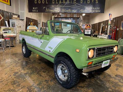 1978 International Scout for sale at Cool Classic Rides in Redmond OR