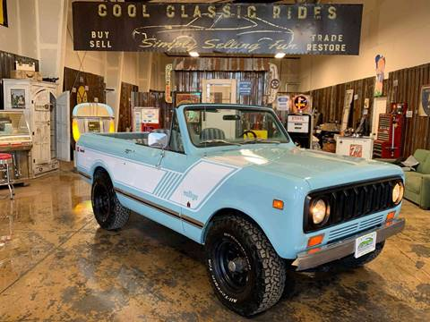 1976 International Scout II 4X4 for sale at Cool Classic Rides in Redmond OR