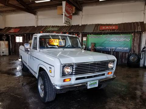 1975 International Pickup for sale at Cool Classic Rides in Redmond OR