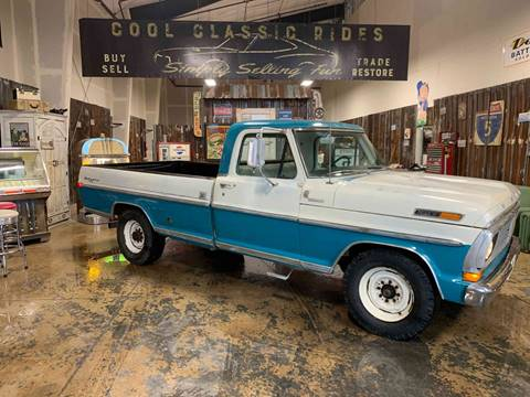 1970 Ford F-250 Sport Custom for sale at Cool Classic Rides in Redmond OR