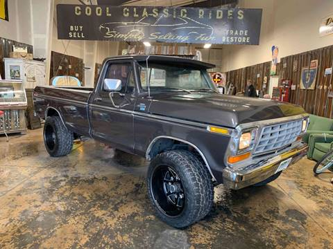 1978 Ford F-150 4X4 Ranger XLT for sale at Cool Classic Rides in Redmond OR