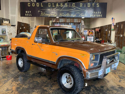 1980 Ford Bronco for sale at Cool Classic Rides in Redmond OR