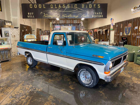 1970 Ford F-100 for sale at Cool Classic Rides in Redmond OR