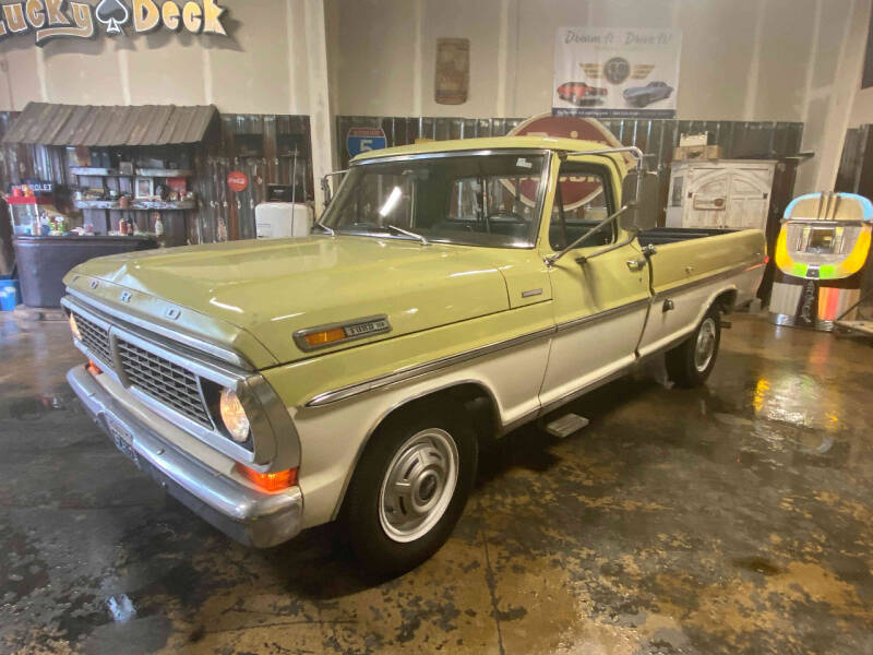 1970 Ford F-250 Camper Special for sale at Cool Classic Rides in Redmond OR