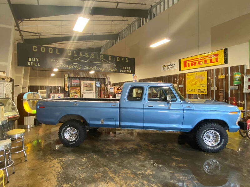 1979 Ford F-100 4X4 for sale at Cool Classic Rides in Redmond OR