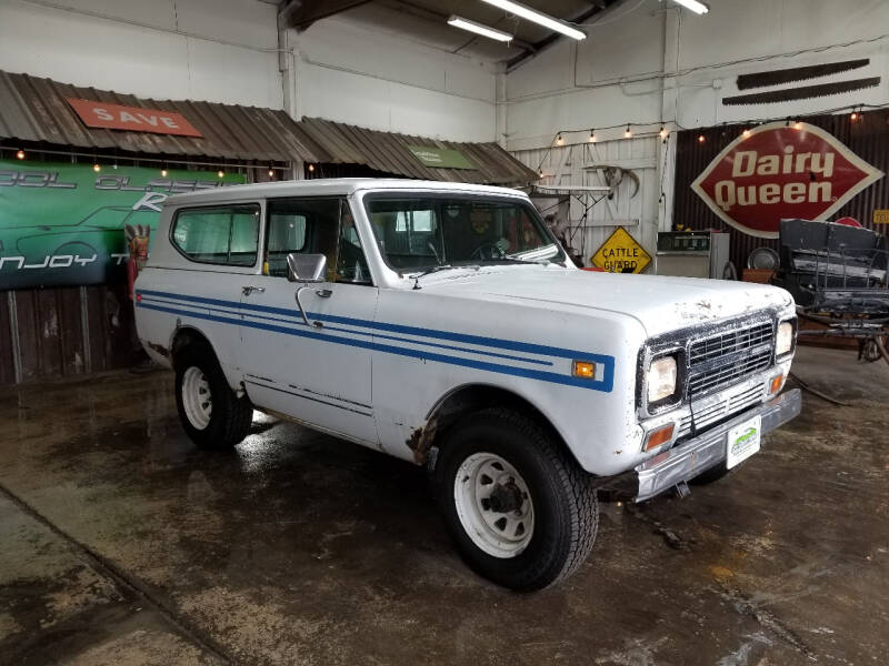 1980 International Scout II for sale at Cool Classic Rides in Redmond OR