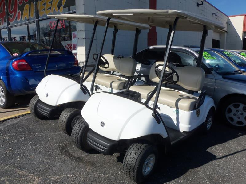 2008 Yamaha Gulf Cart for sale at FIRST CHOICE AUTO Inc in Middletown OH