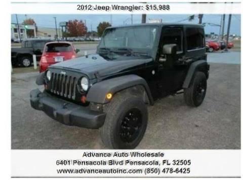 2012 Jeep Wrangler for sale in Pensacola, FL