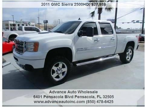 2011 GMC Sierra 2500HD for sale in Pensacola, FL