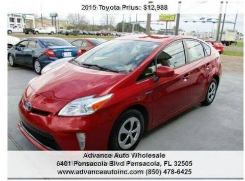 2015 Toyota Prius for sale at Advance Auto Wholesale in Pensacola FL