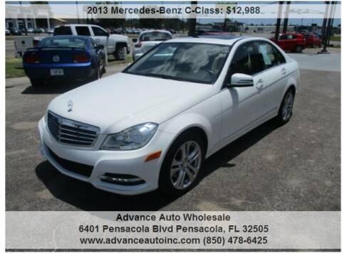2013 Mercedes-Benz C-Class for sale at Advance Auto Wholesale in Pensacola FL