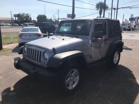 2014 Jeep Wrangler for sale at Advance Auto Wholesale in Pensacola FL