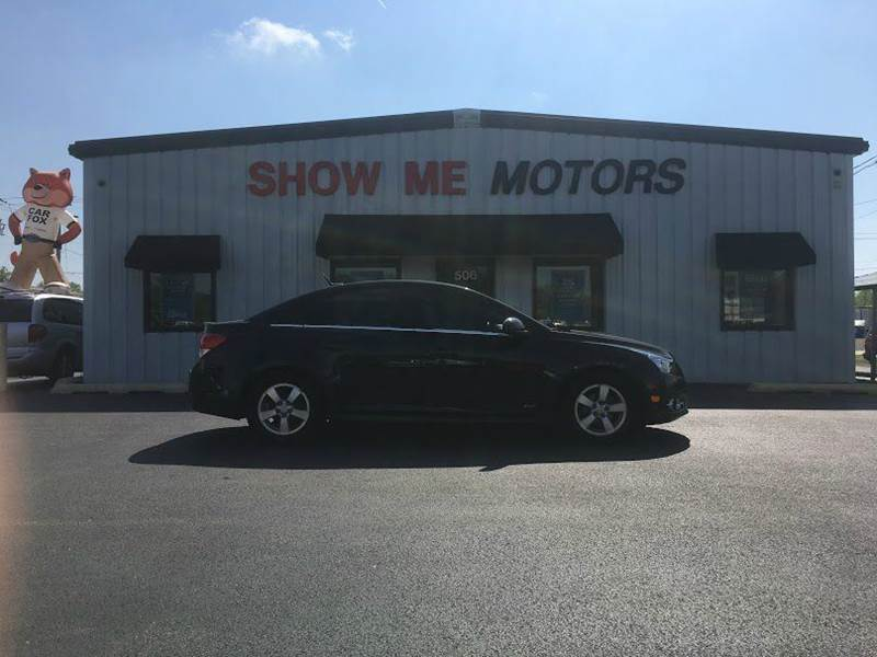 2011 Chevrolet Cruze for sale at SHOW ME MOTORS in Cape Girardeau MO