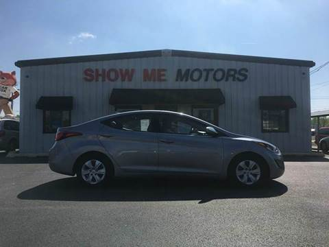 2016 Hyundai Elantra for sale at SHOW ME MOTORS in Cape Girardeau MO